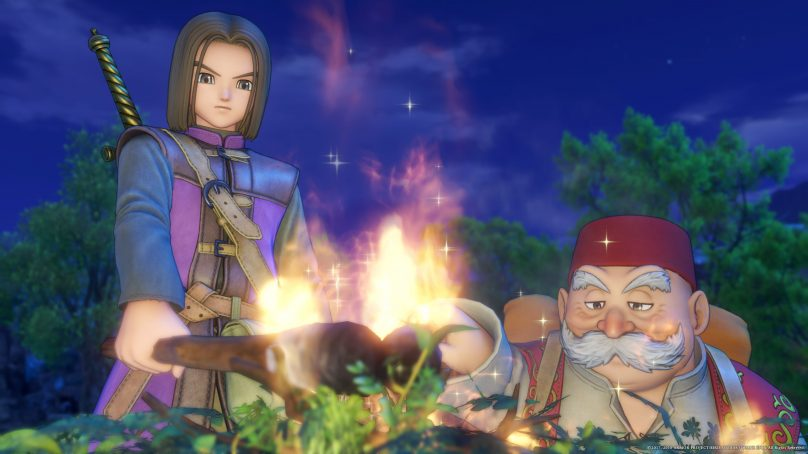 Now Playing Dragon Quest XI: Ecos de un Pasado Perdido